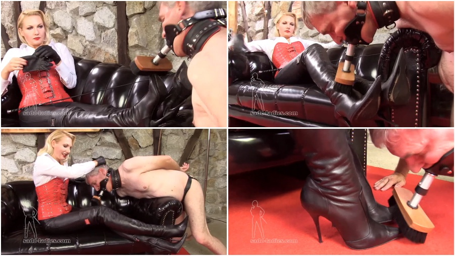 Addicted To High Heels Or A Slave To My Wife's Boots