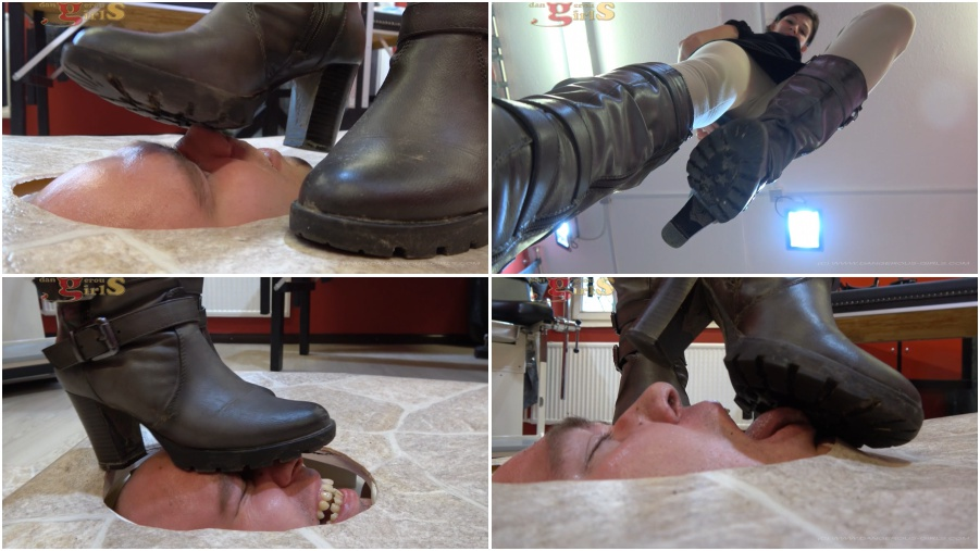 Dirty Boots licking, trampling, boot fetish