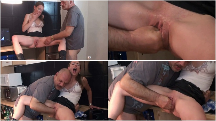 Fisting fetish porn, father fisted daughter