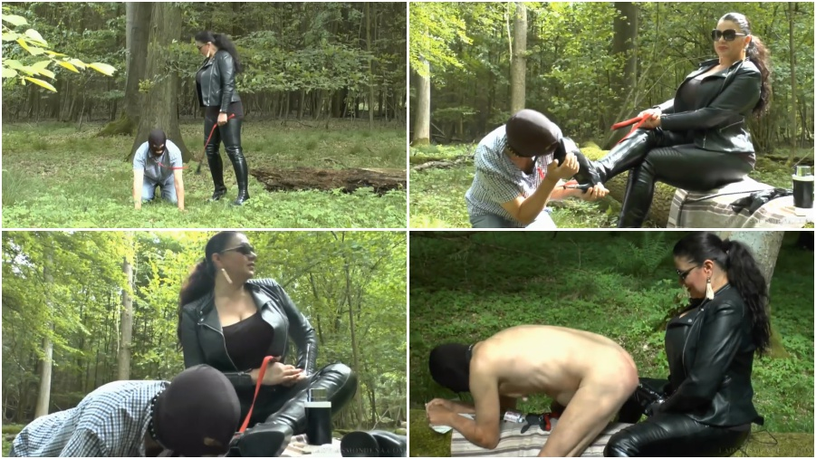 Boots femdom video, boot licking fetish