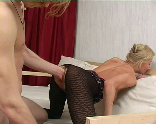 Extreme vaginal insertion with sex elements
