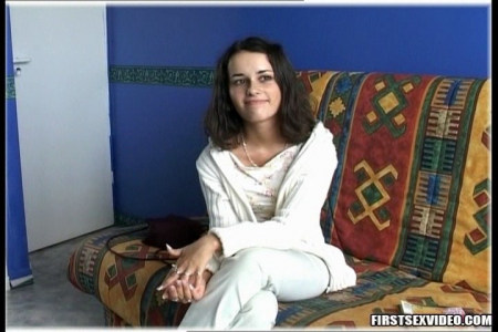 Teen porn video with sexy home girl