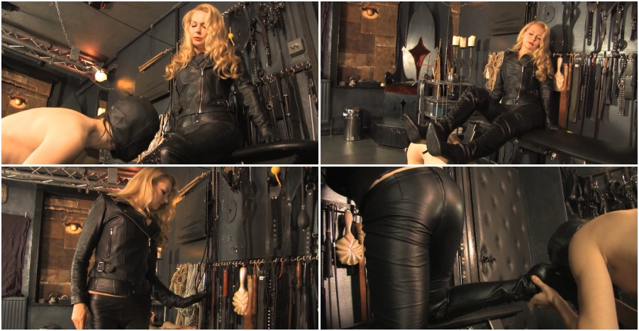 Boots femdom video, boot fetish