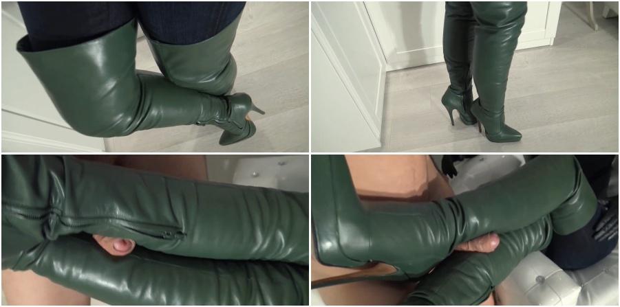Boots femdom video, bootjob, bootfetish
