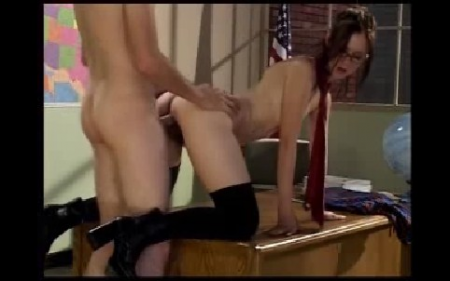 Young girl, high shool class sex