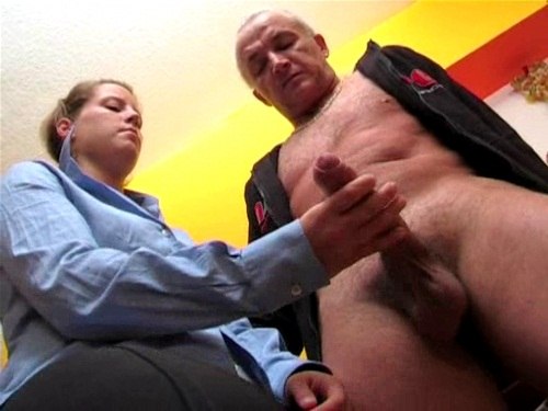 handjob old dick