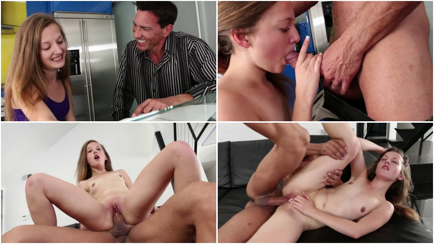 Emotional young girl and old man porn vidoe